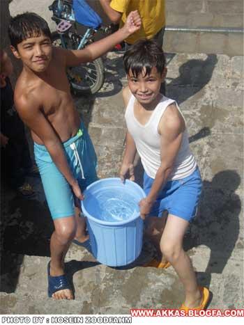 آب بازی تابستان